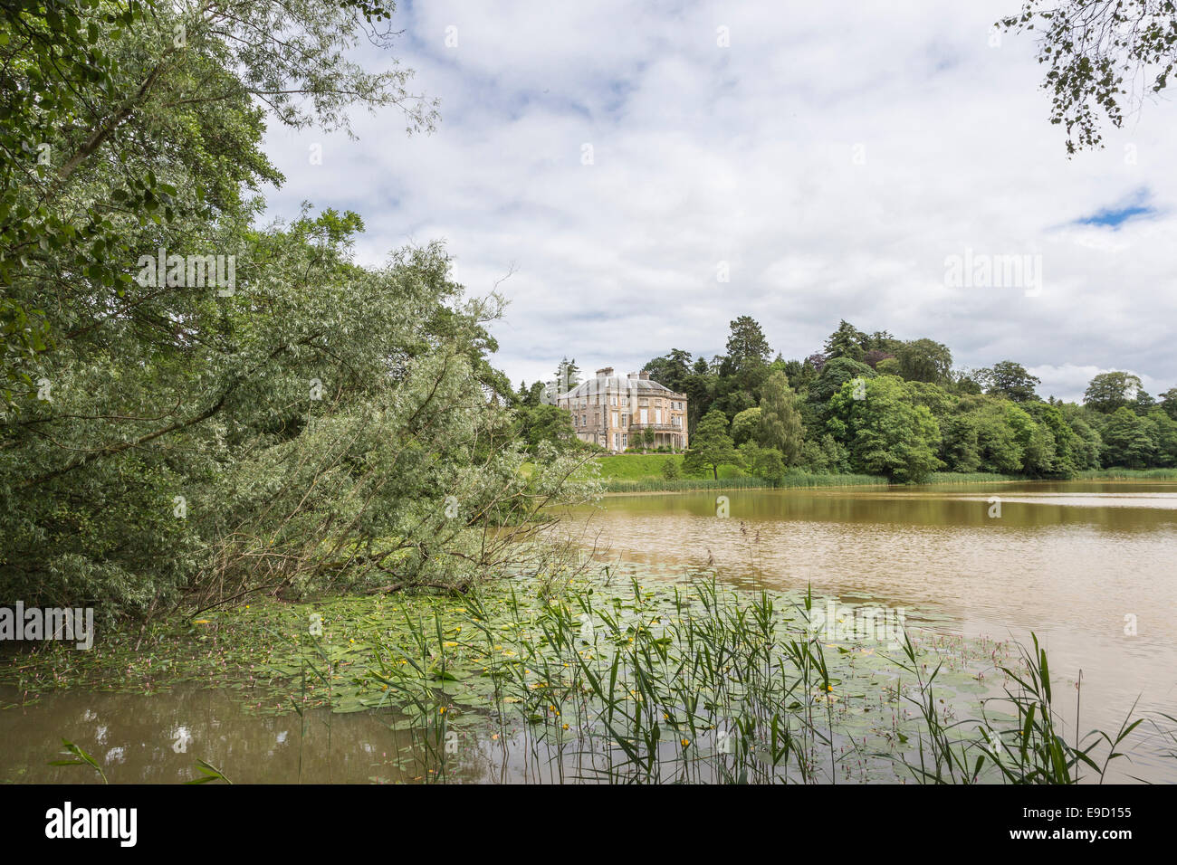 The Haining at Selkirk in the Borders of Scotland. - Stock Image