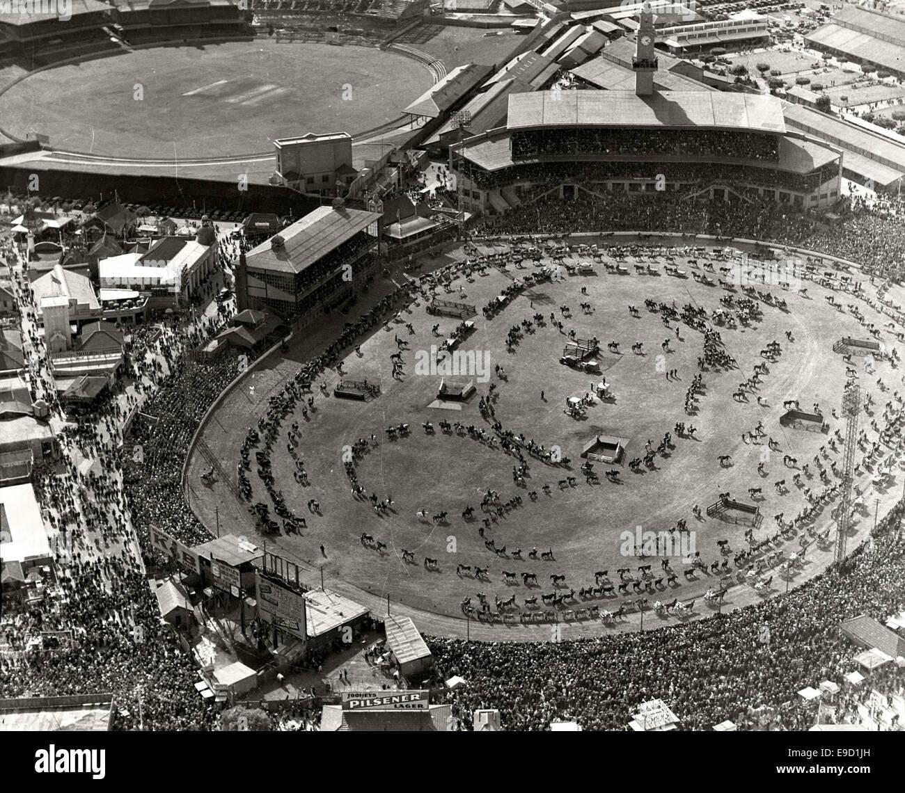 Sydney Showground, Grand Parade Easter 1936 14039813382 o - Stock Image