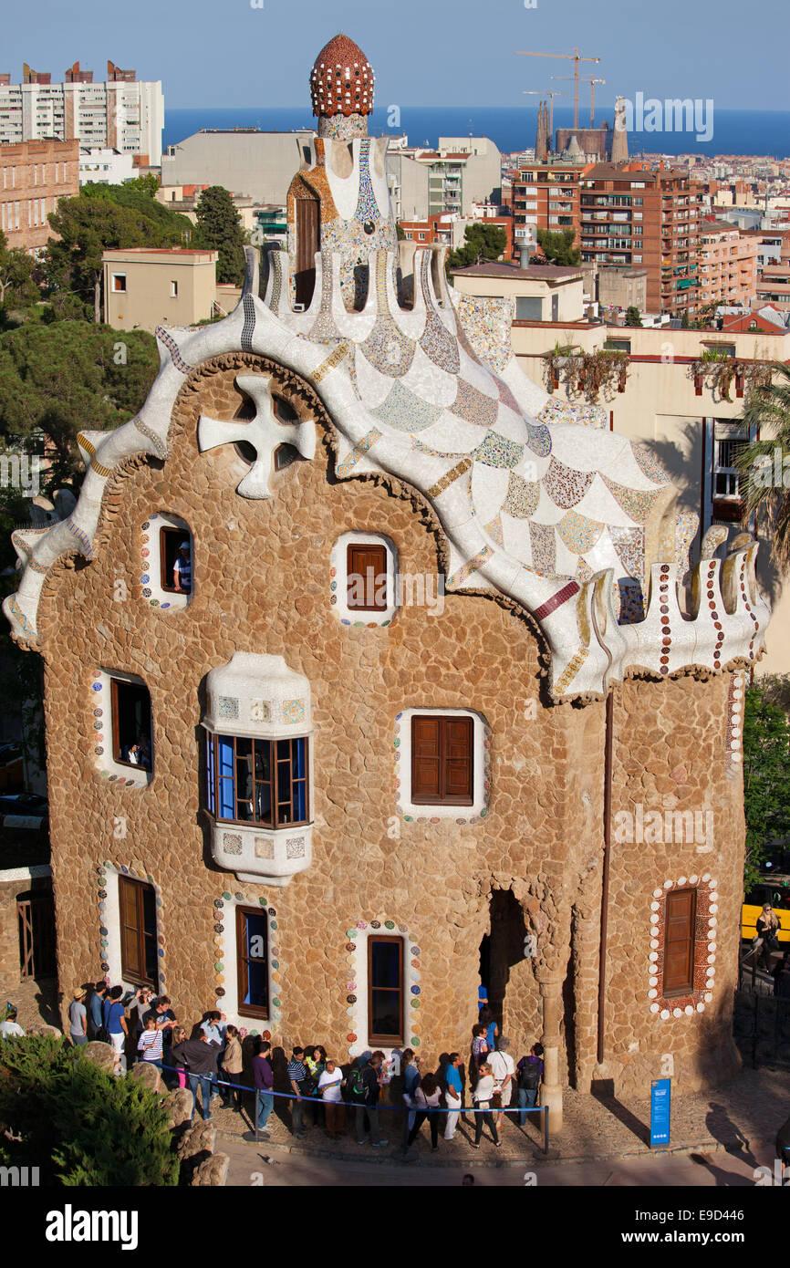 Maison gaudi parc guell barcelona ventana blog - Casas de gaudi ...