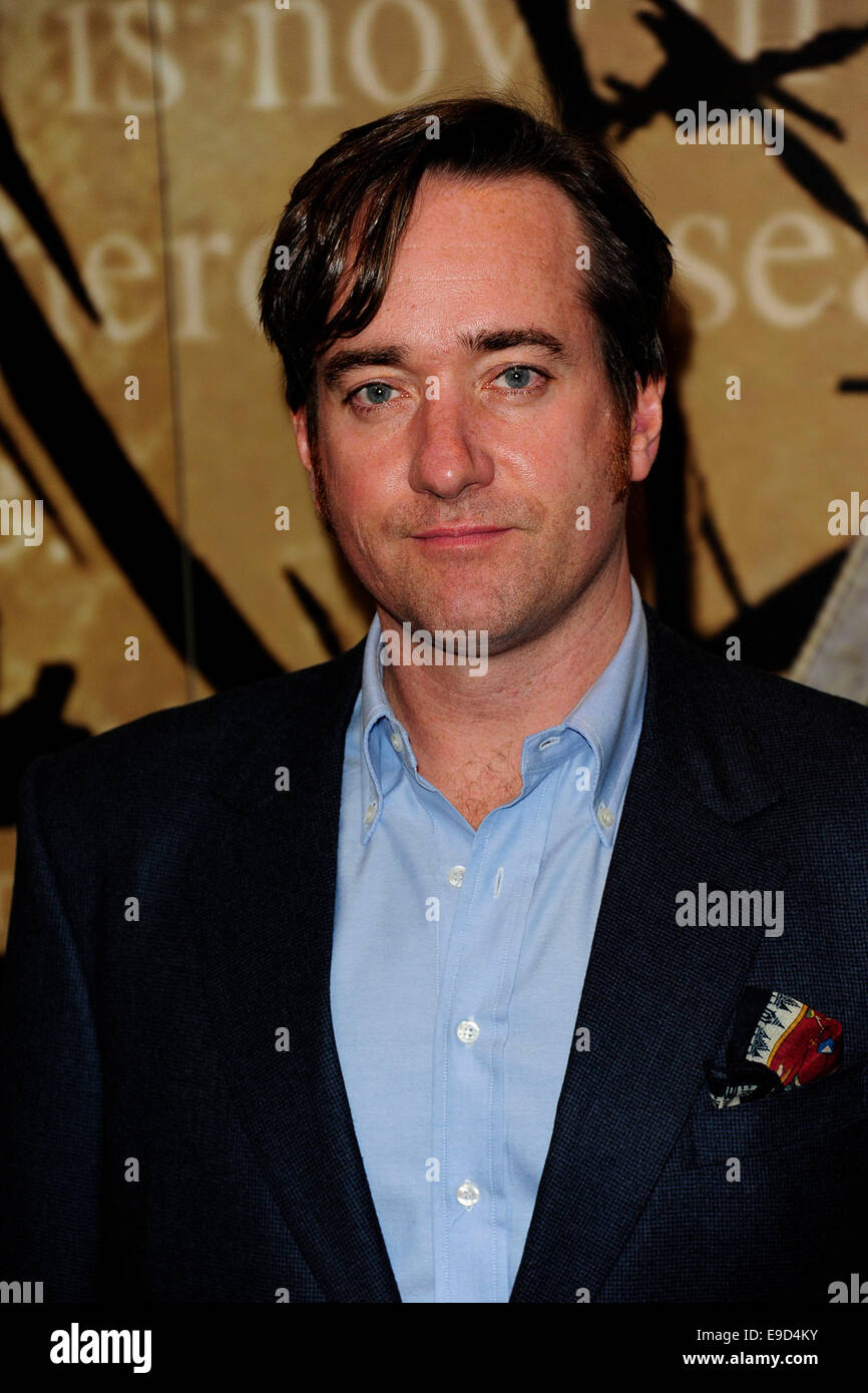 London, UK. 24th Oct, 2014. Matthew MacFadyen attend the Specsavers Crime Thriller Awards 2014 at the Grosvenor Stock Photo