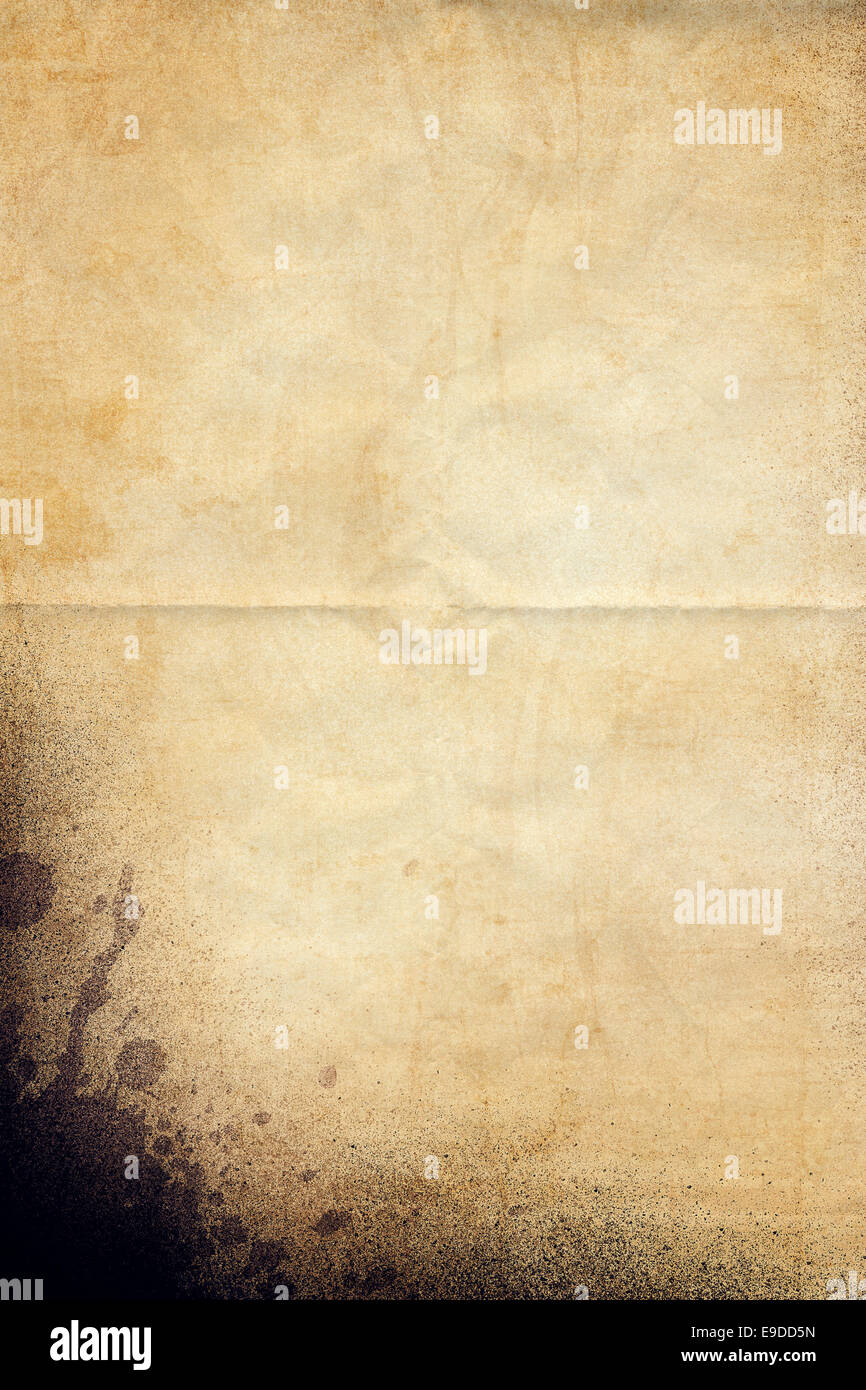 Old Vintage Paper Texture - Stock Image