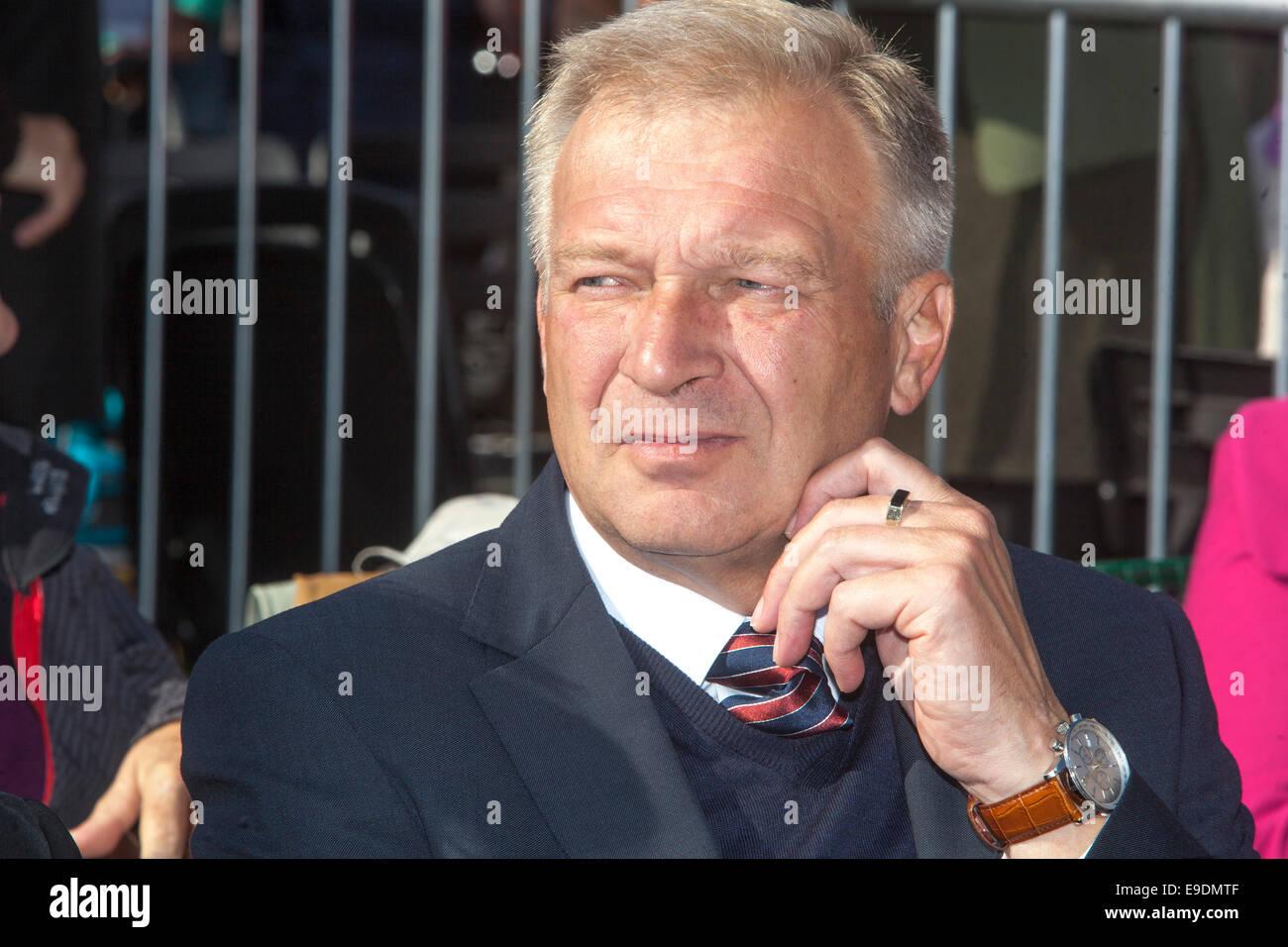 Vlastimil Picek soldier, politician, army general, mayor - Stock Image