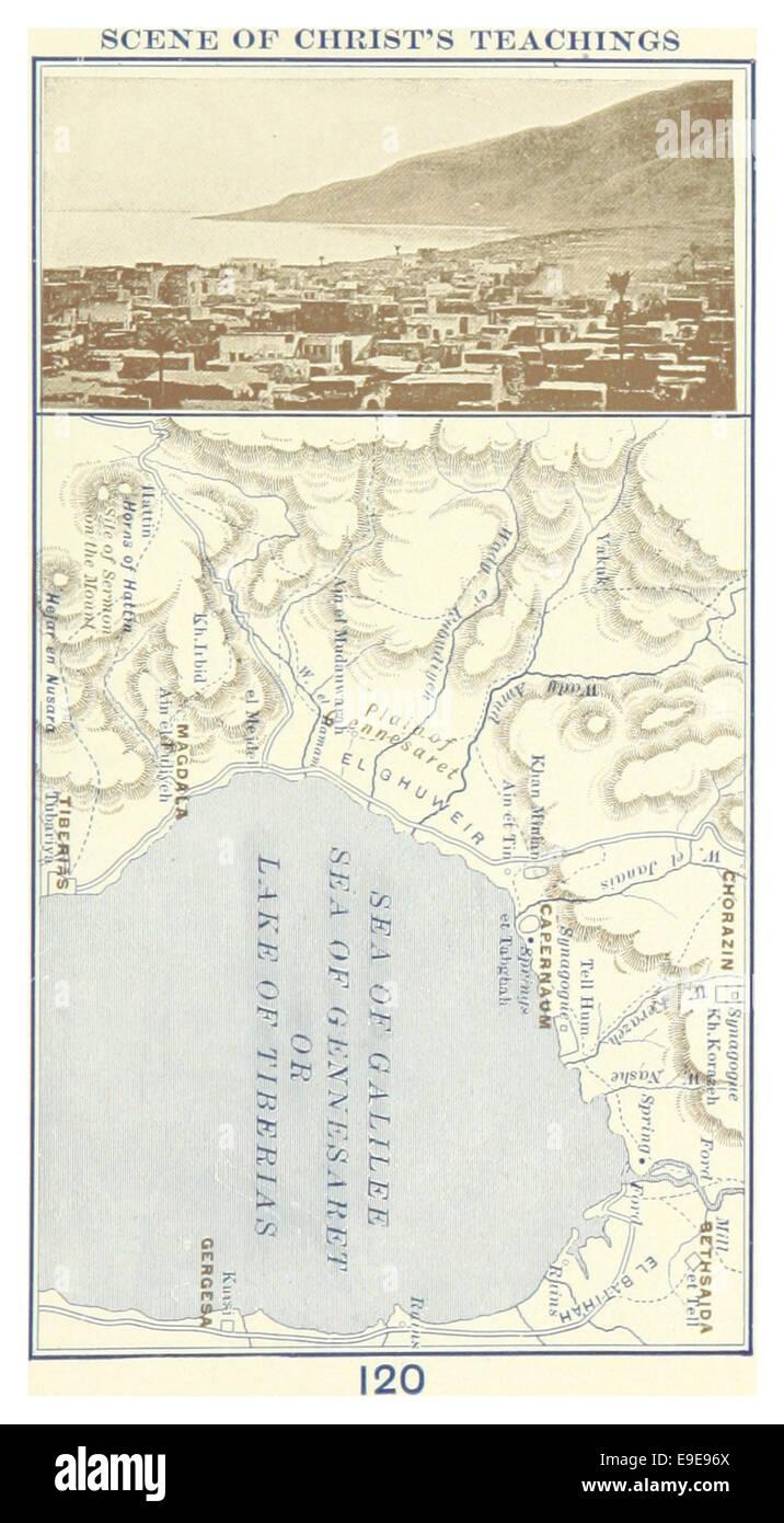 MACCOUN(1899) p177 SCENE OF CHRIST'S TEACHINGS - Stock Image