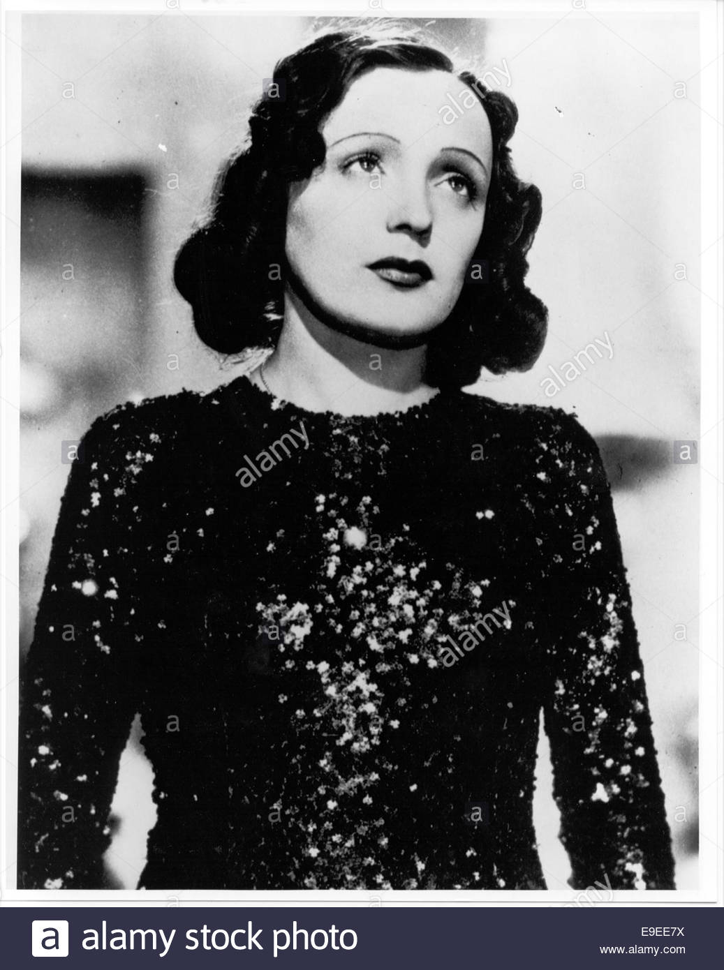 EDITH PIAF, circa 1940s. Courtesy Granamour Weems Collection. - Stock Image