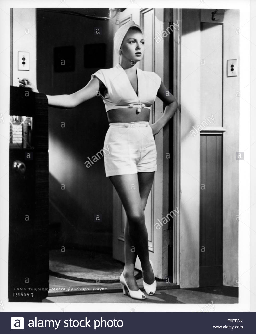 THE POSTMAN ALWAYS RINGS TWICE (1946) - LANA TURNER - Stock Image