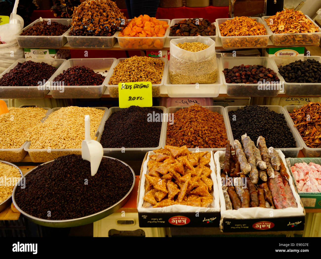 All the Delights of the Market - Stock Image