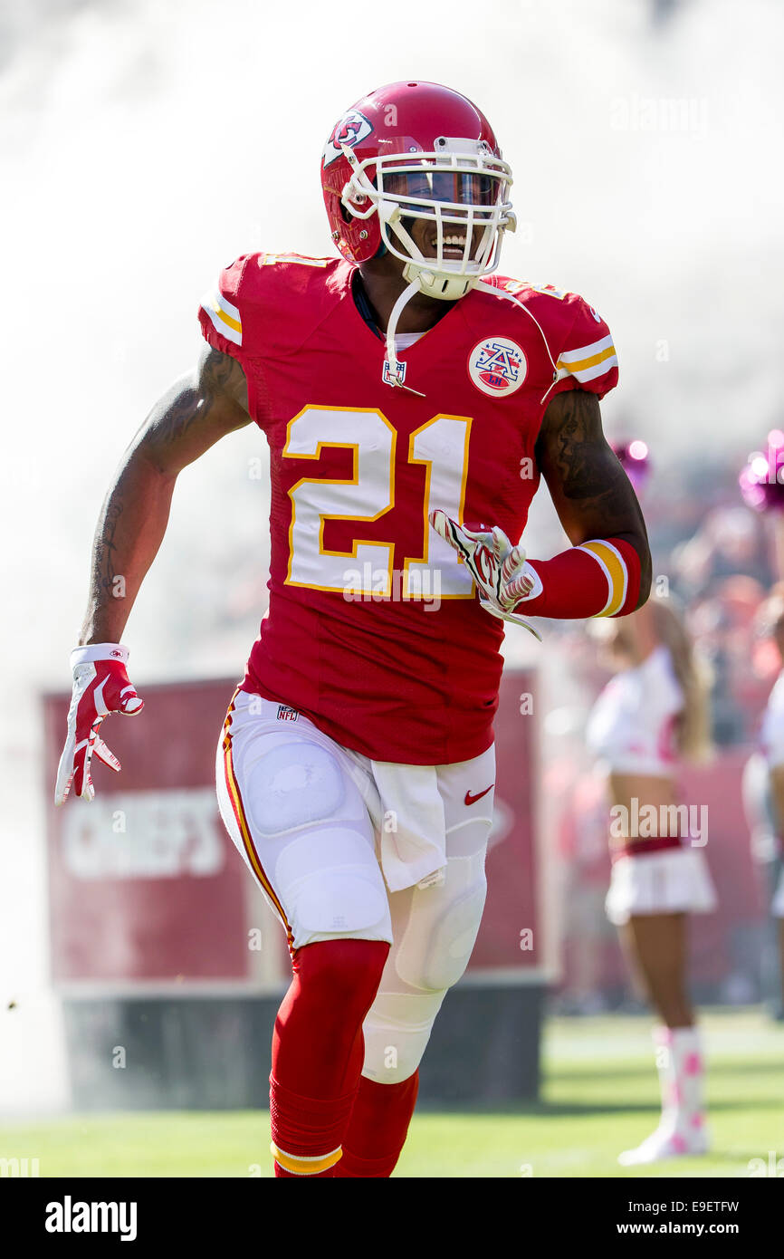 12f1a8ed Kansas City, MO, USA. 26th Oct, 2014. Kansas City Chiefs cornerback ...