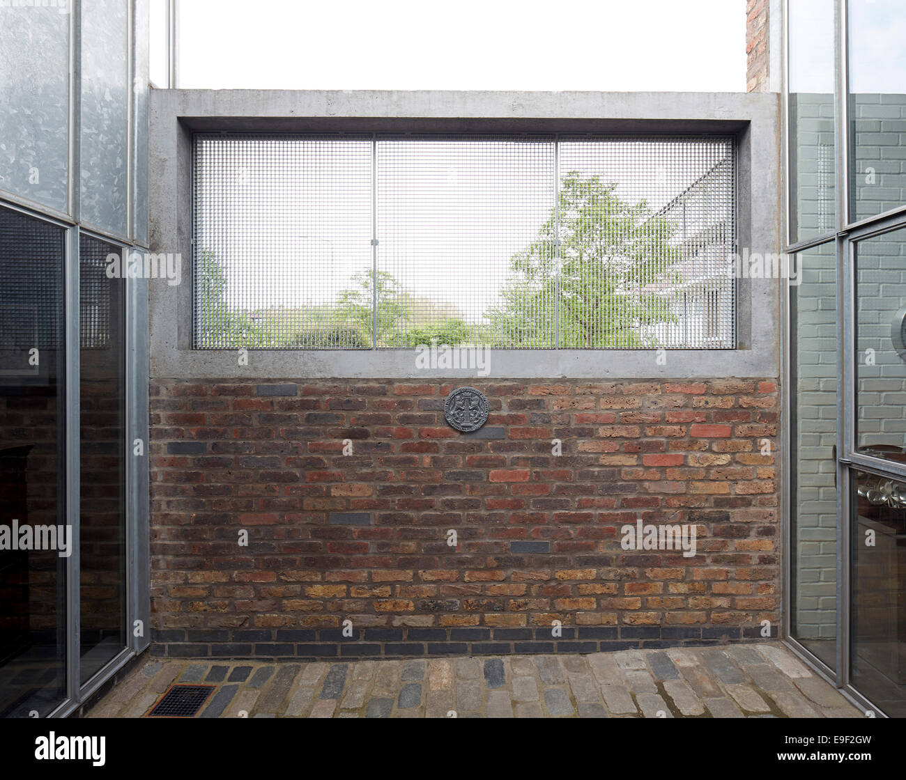 Hale Street House, a revisit, London, United Kingdom. Architect: DSDHA, 2014. - Stock Image