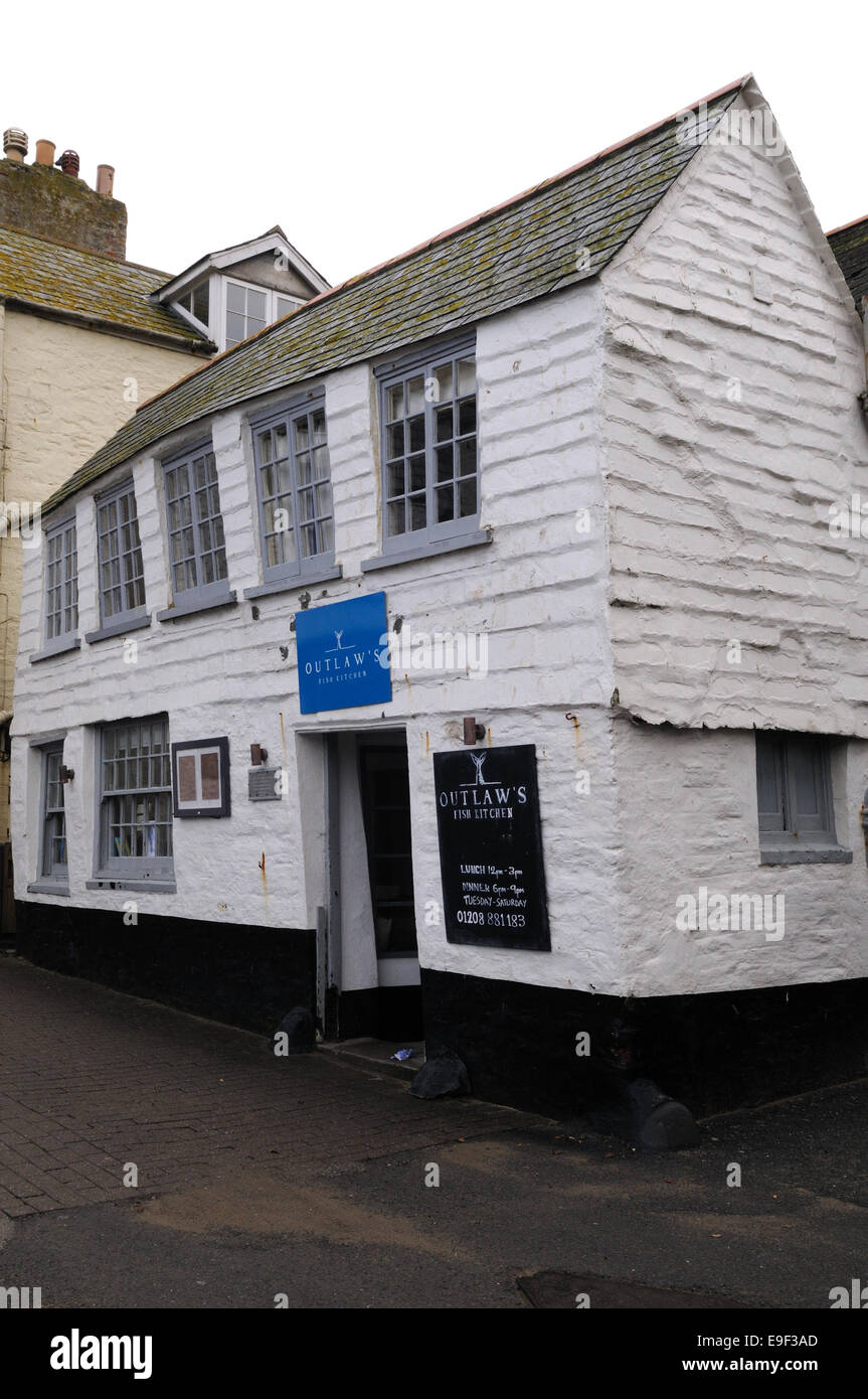 Nathan Outlaw's Restaurant in the oldest building in Port