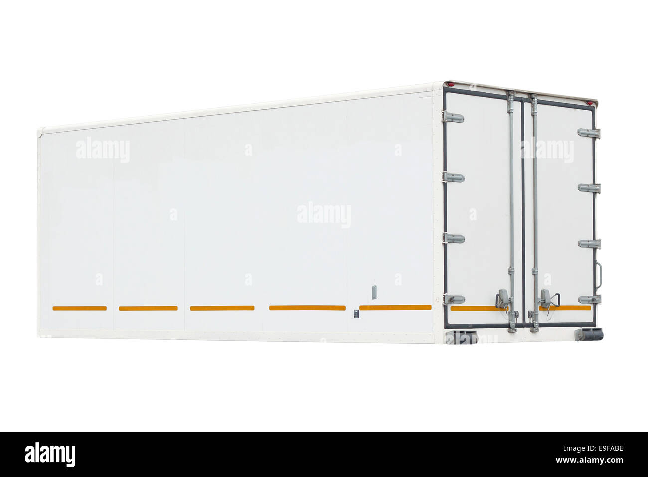 container on a white background. - Stock Image