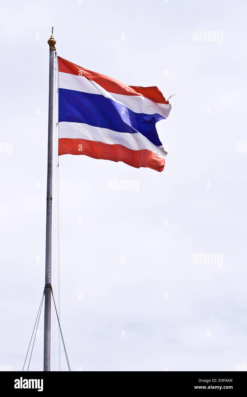 Thai flag - Stock Image