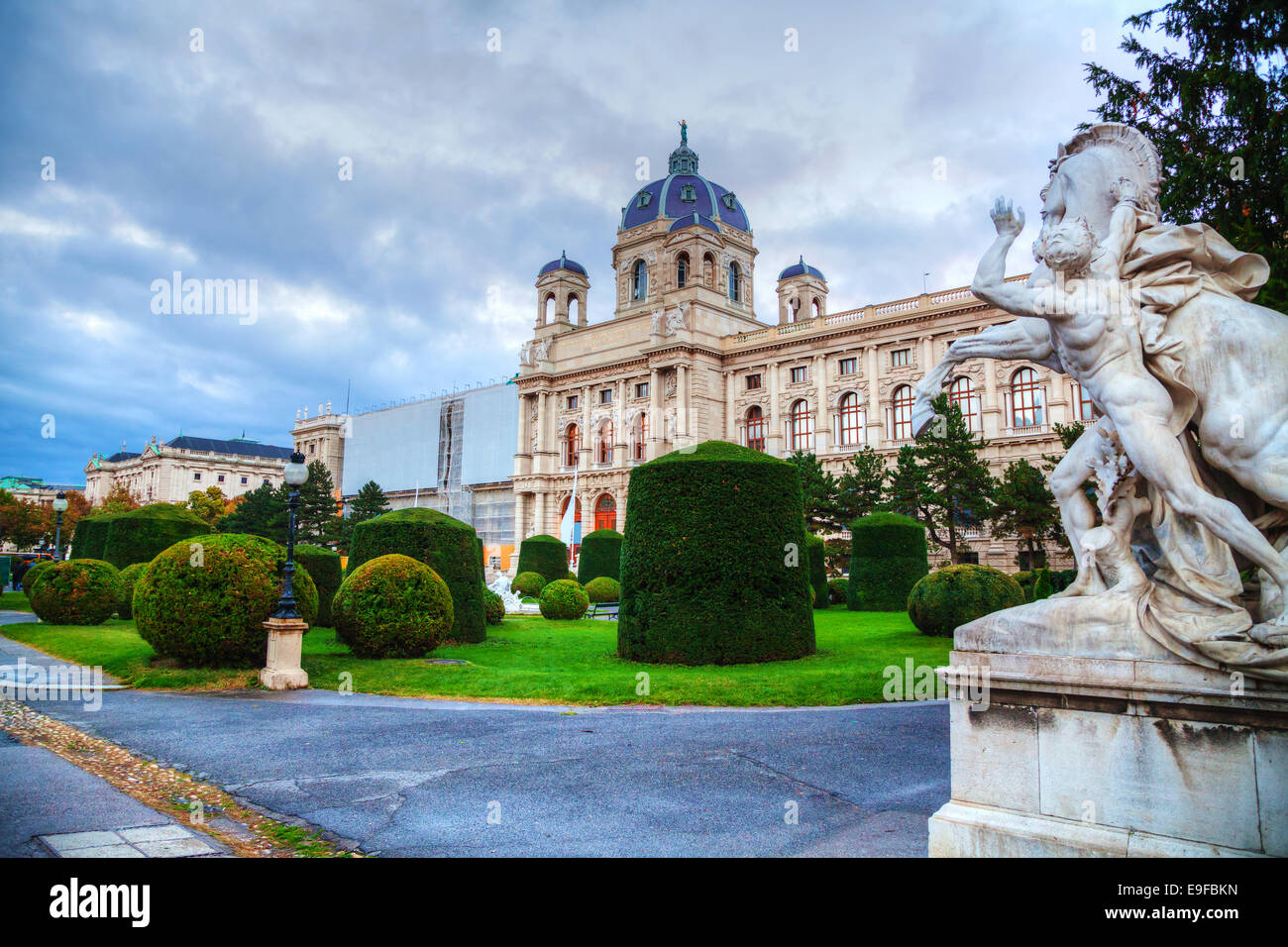 Museum of Natural History in Vienna, Austria - Stock Image