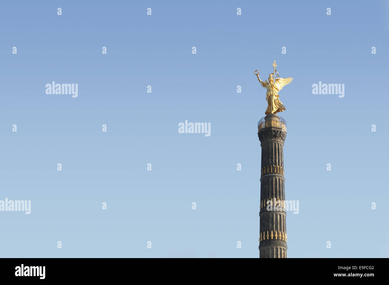 berlin siegessaeule Stock Photo