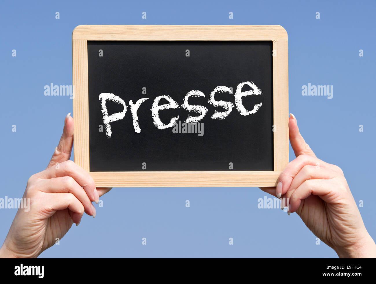 Press Stock Photo