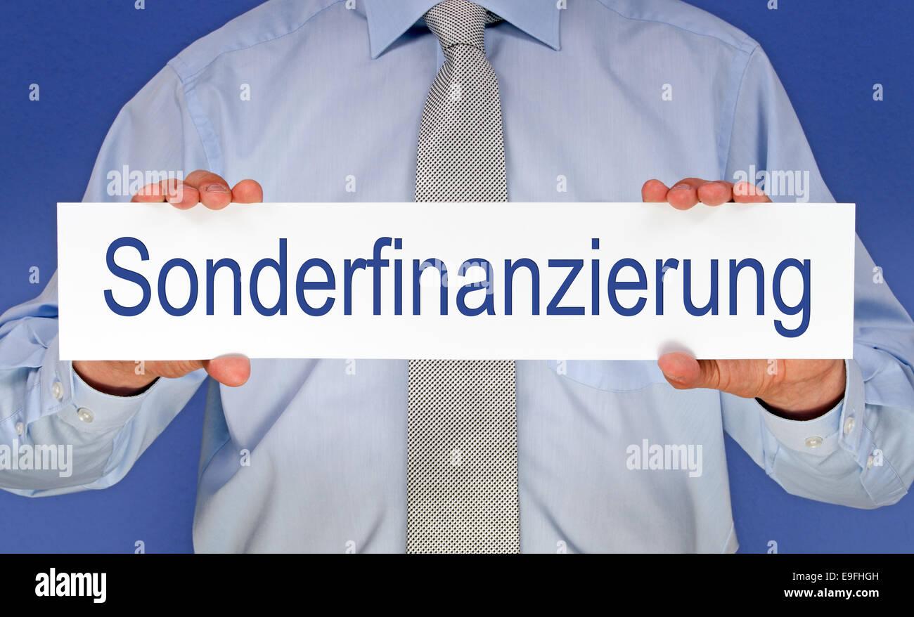 Financing Stock Photo