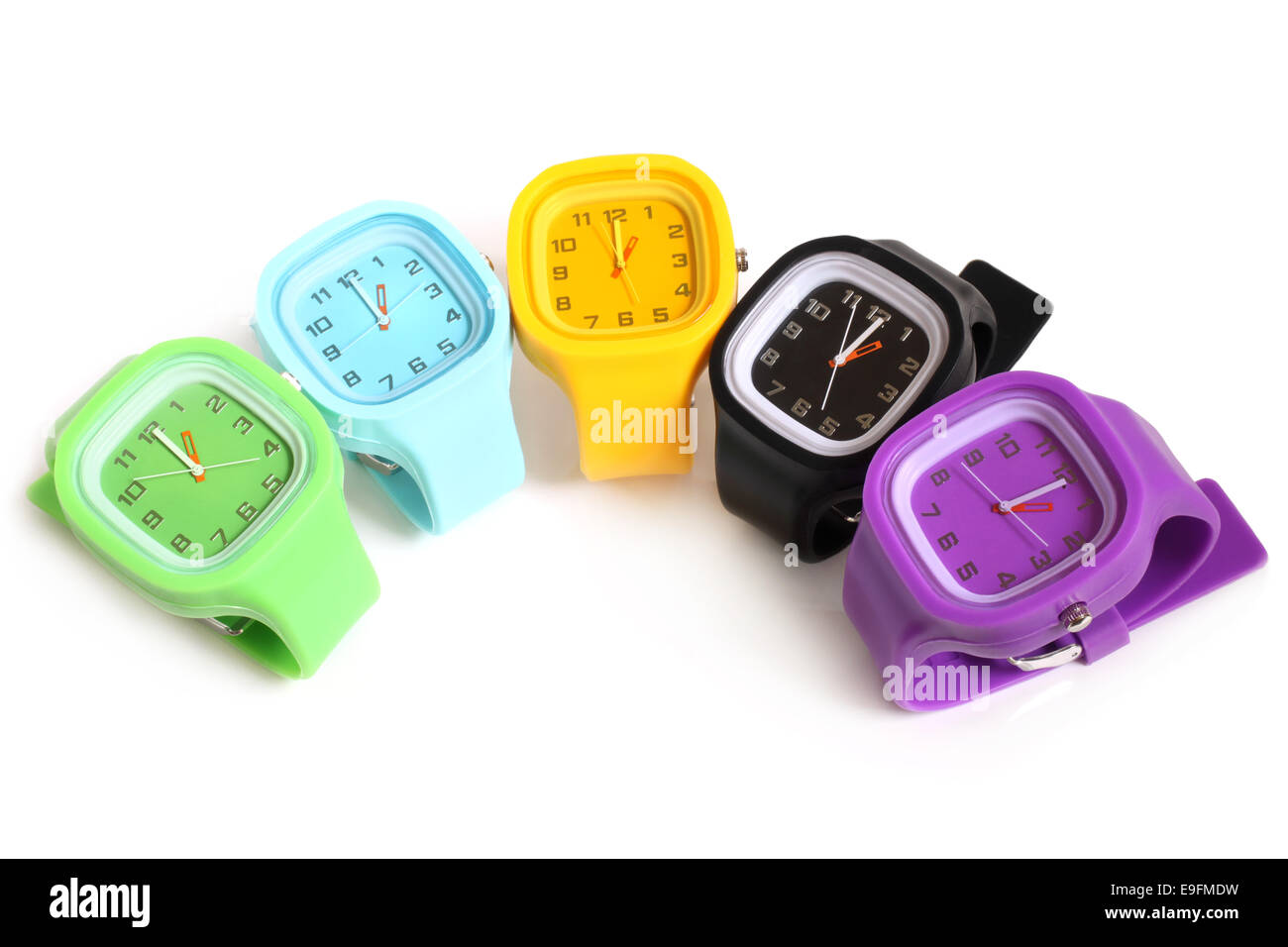 Wristwatches - Stock Image
