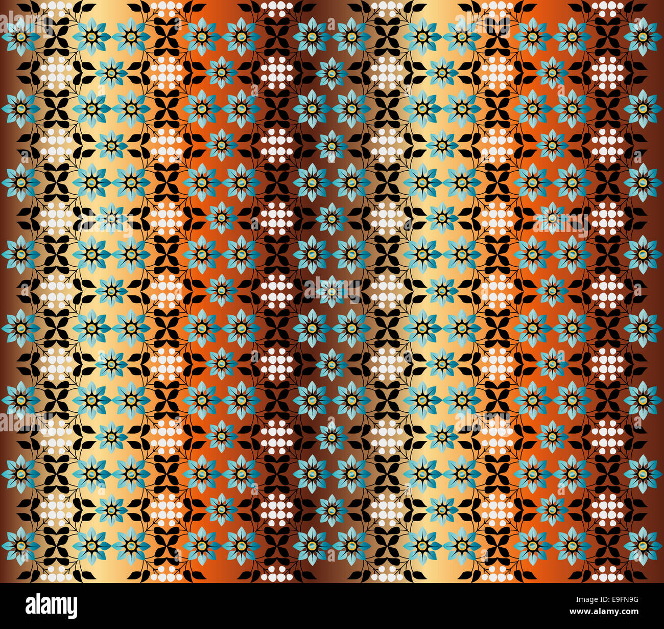 seamless pattern version - Stock Image