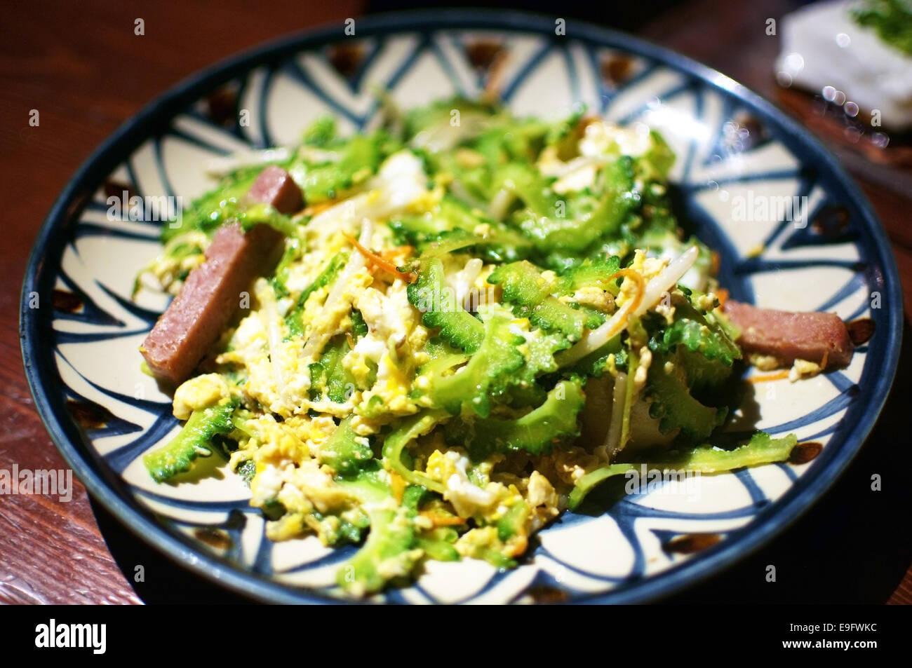 Okinawan Cuisine - Stock Image