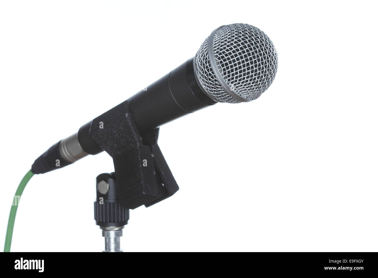 voice microphone - Stock Image