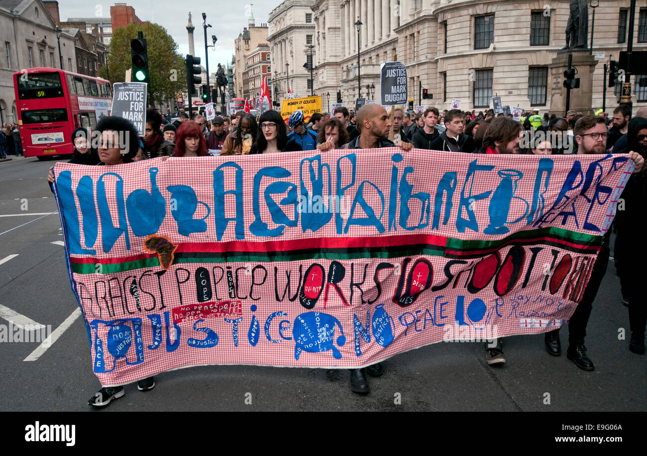 Annual Rally and campaigned against Deaths in Custody held by United Families and Friends - Stock Image