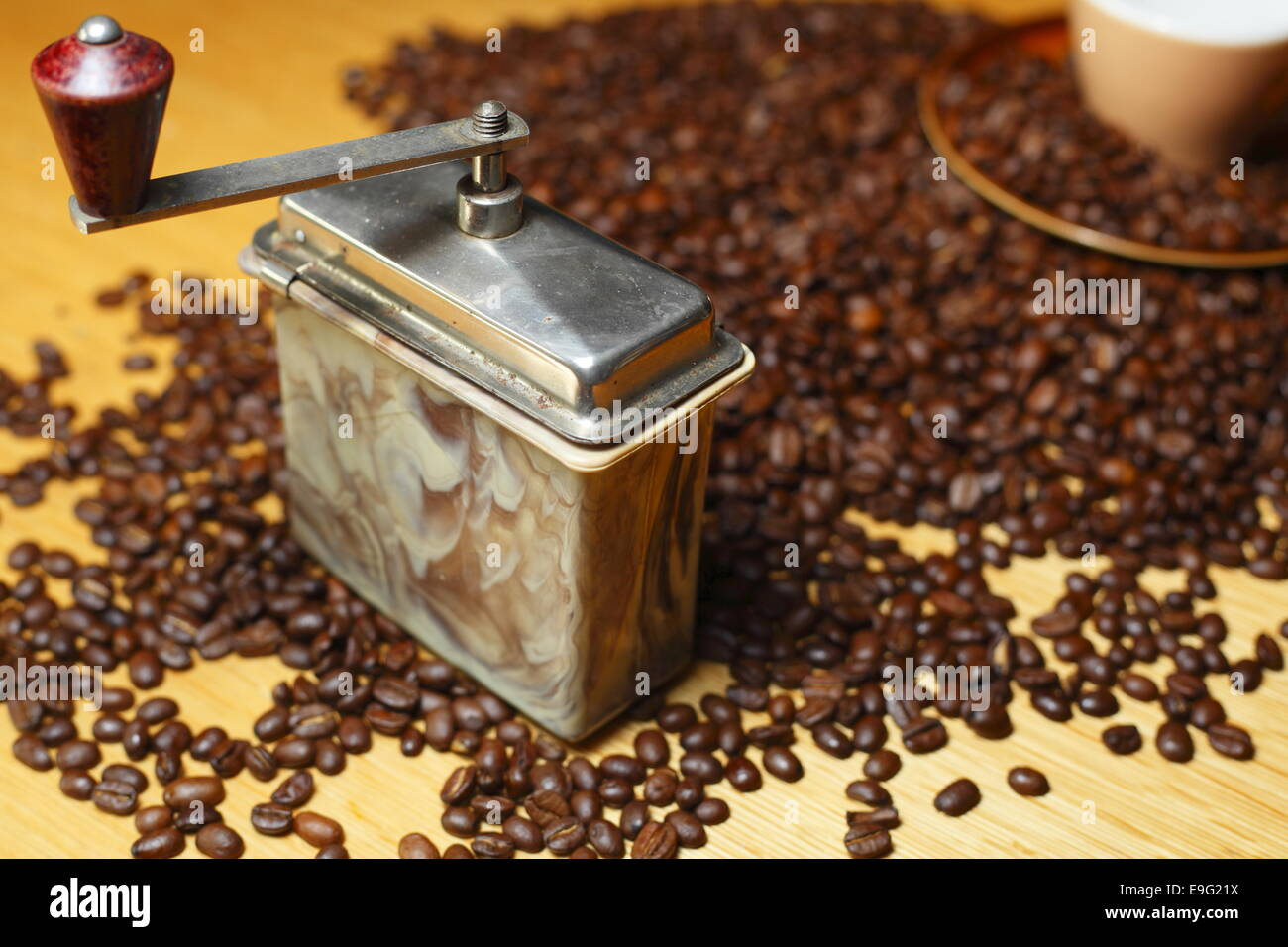 coffee mill - Stock Image