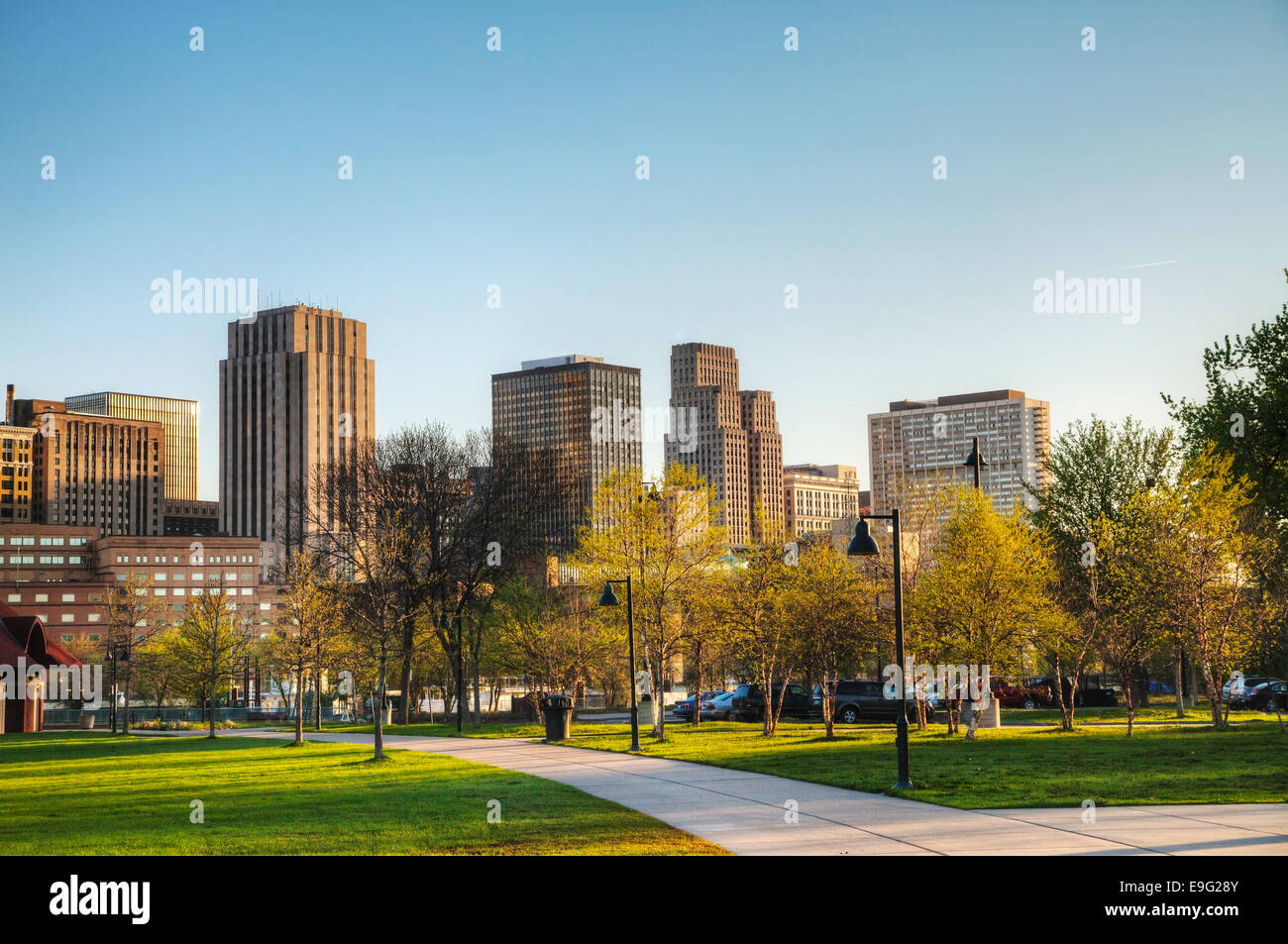 Downtown of St. Paul, MN - Stock Image