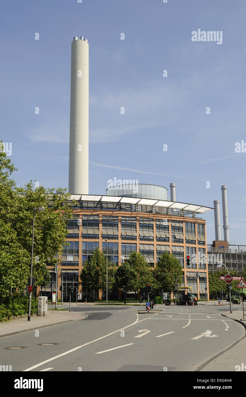 municipal utilities, Muenster, Germany - Stock Image