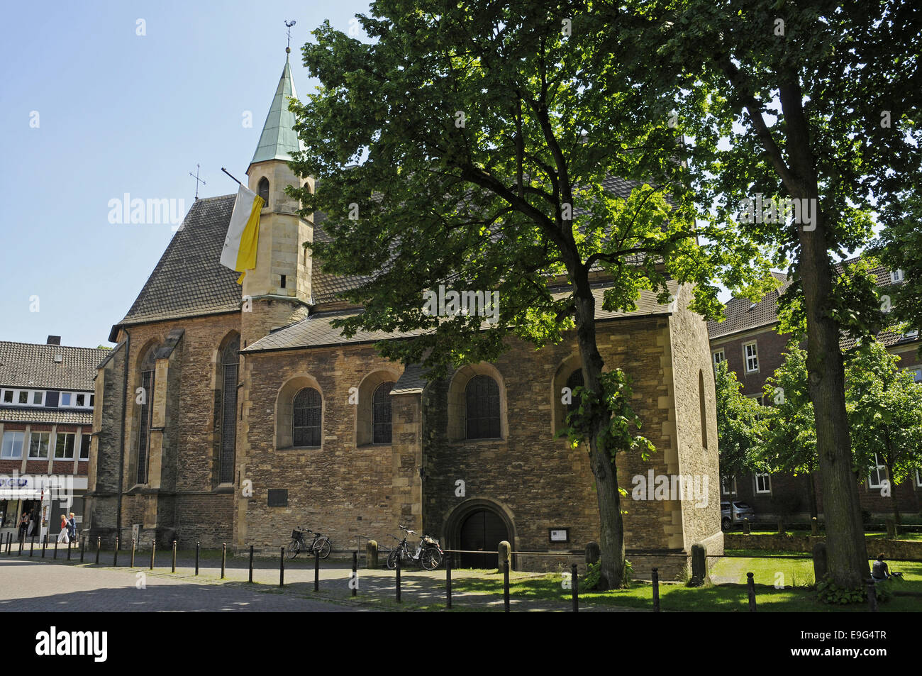St Servatii Church, Muenster, Germany Stock Photo