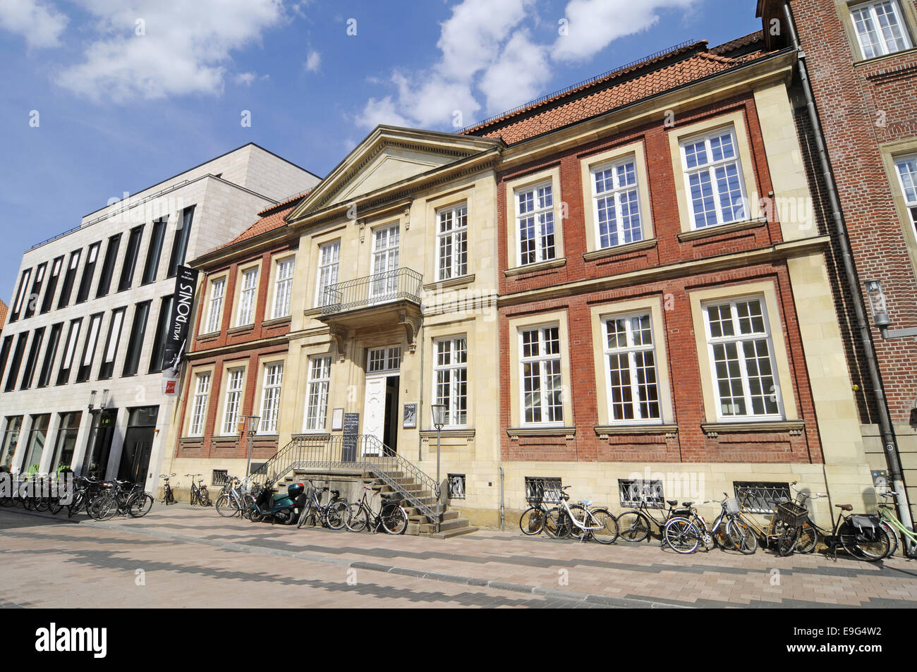 Picasso museum, Muenster, Germany Stock Photo