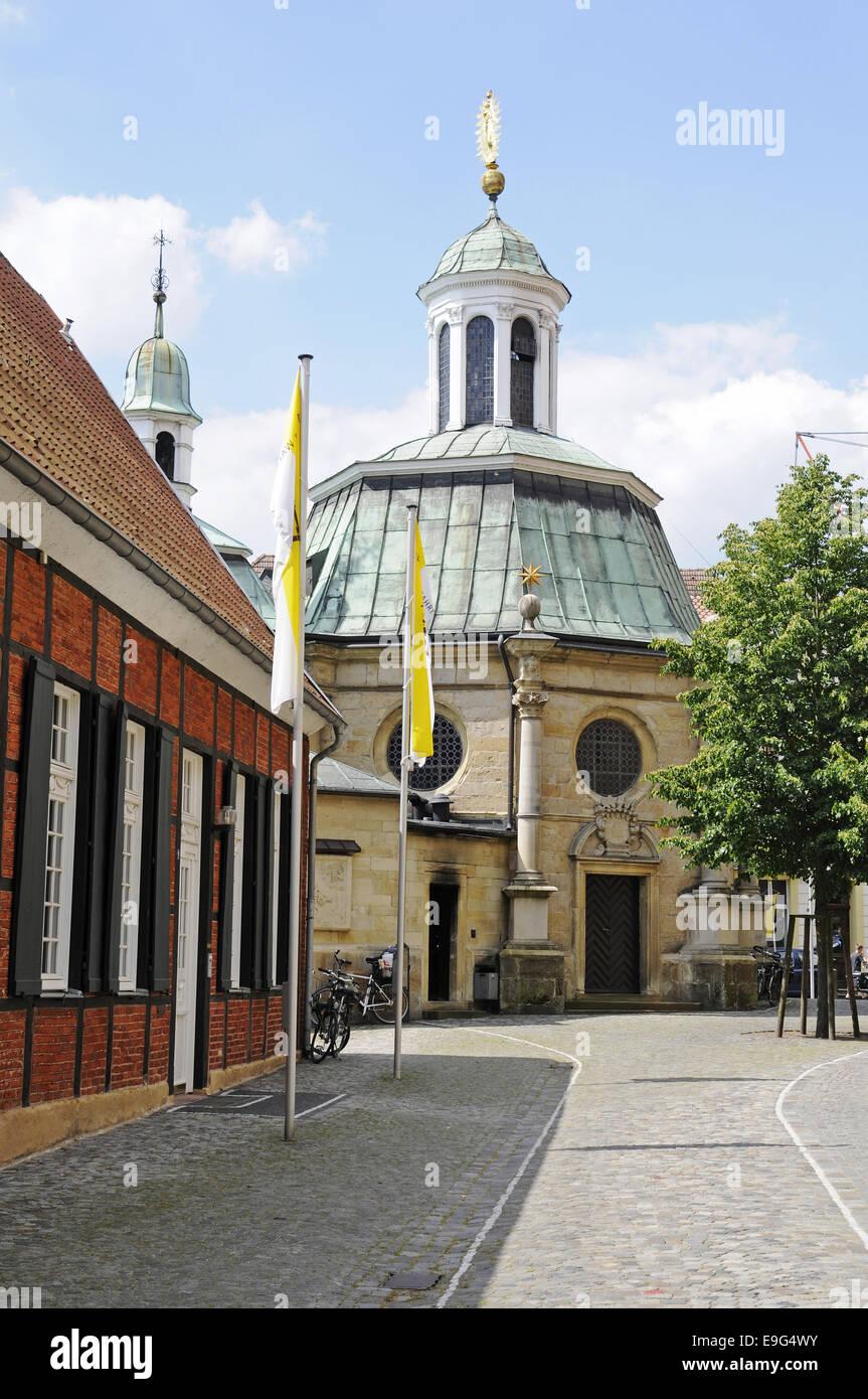 pilgrimage chapel, Telgte, Germany Stock Photo