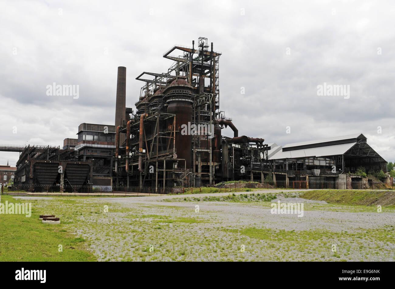 Phoenix West, Dortmund, Germany - Stock Image
