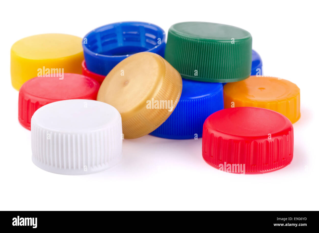 Bottle caps - Stock Image