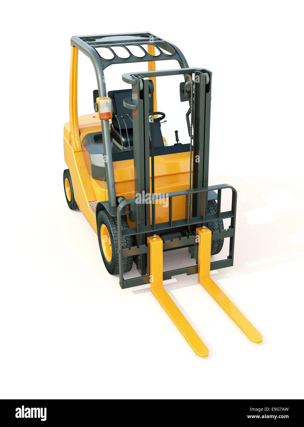 Forklift truck - Stock Image