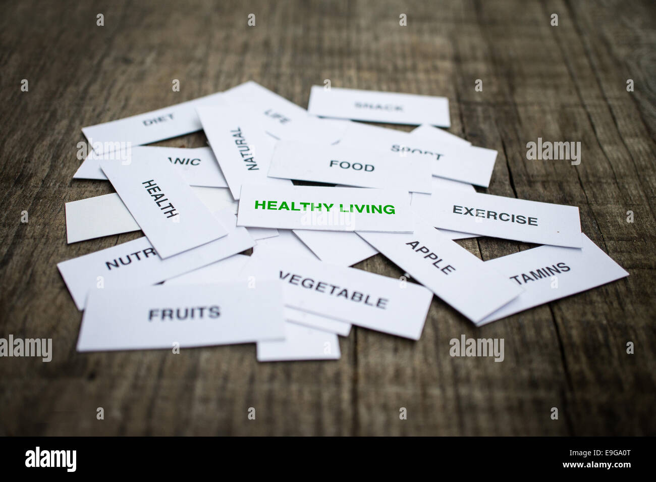 Healthy Living Concept - Stock Image