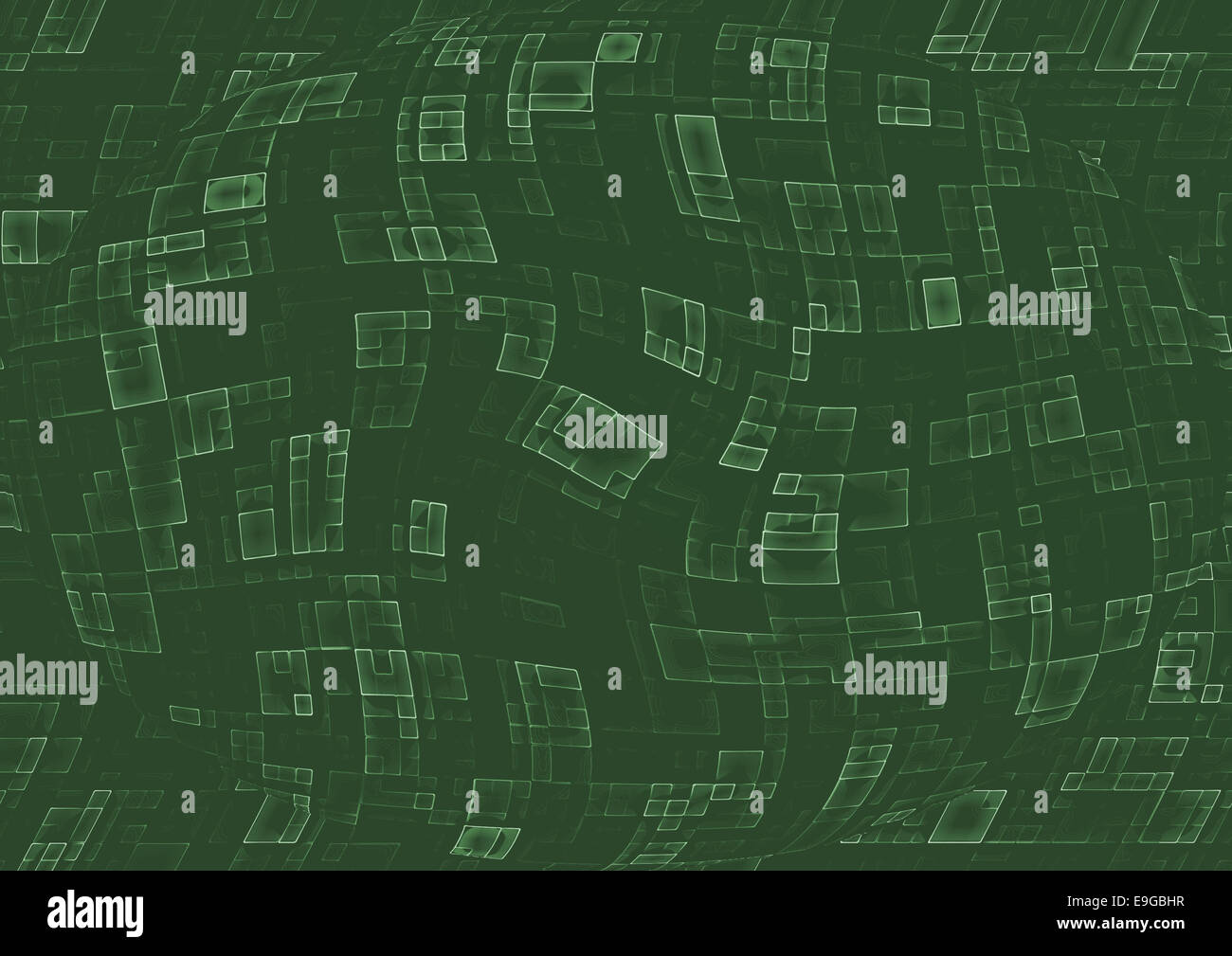 abstract technological relief - Stock Image