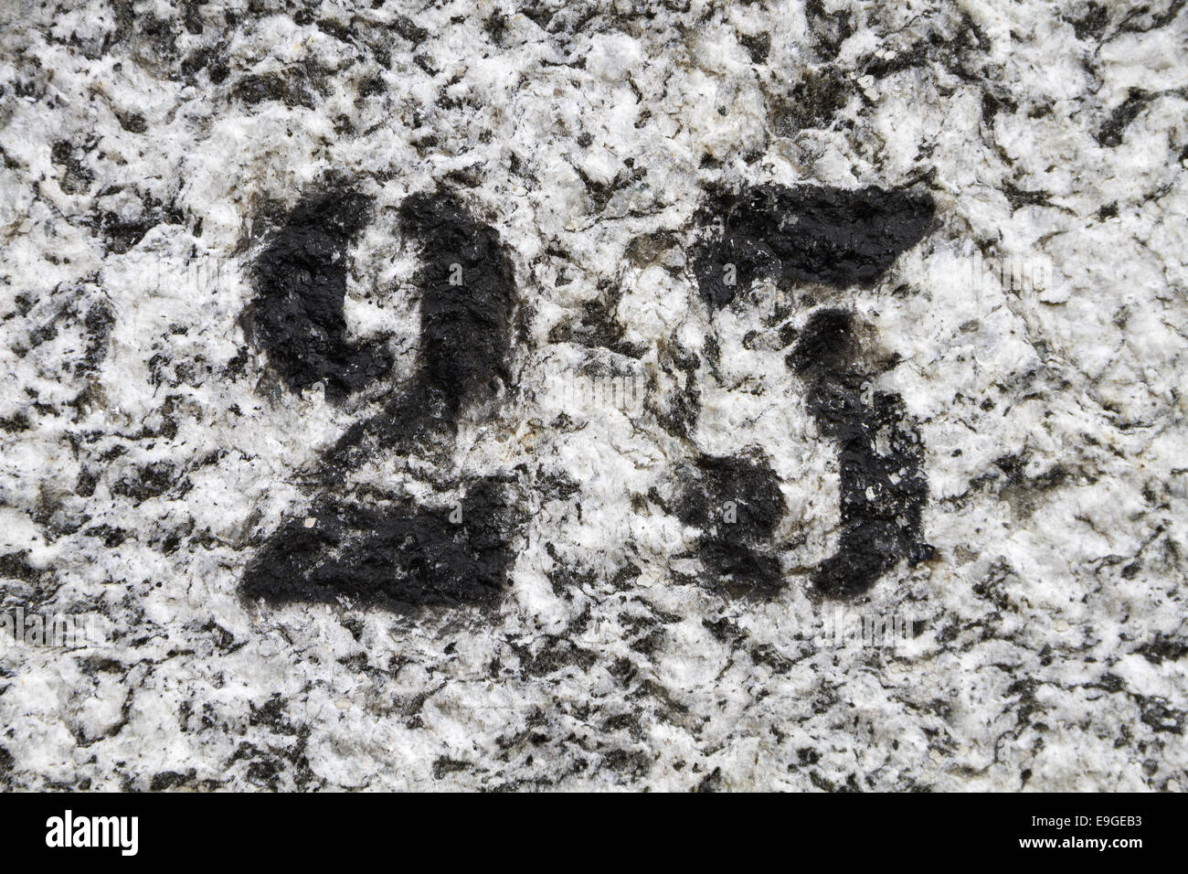 number 23 Stock Photo