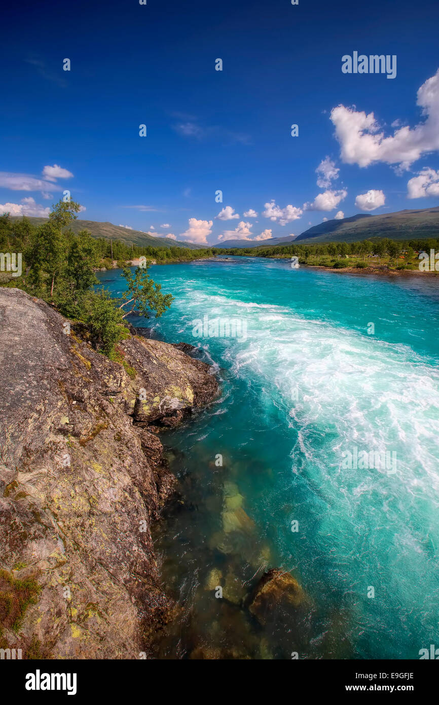 Stryn in Norway - Stock Image