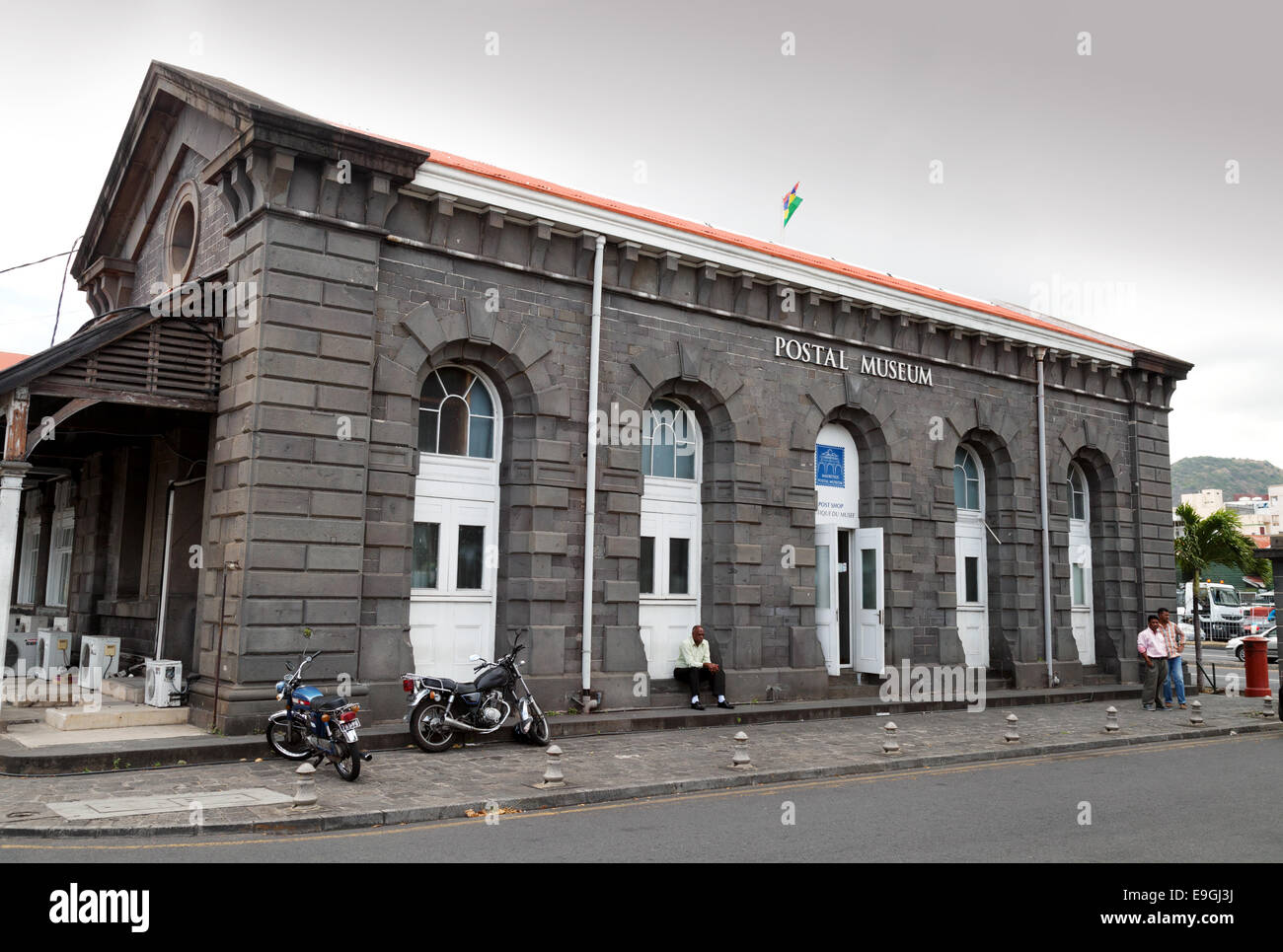 The Postal Museum, Port Louis, Mauritius Stock Photo