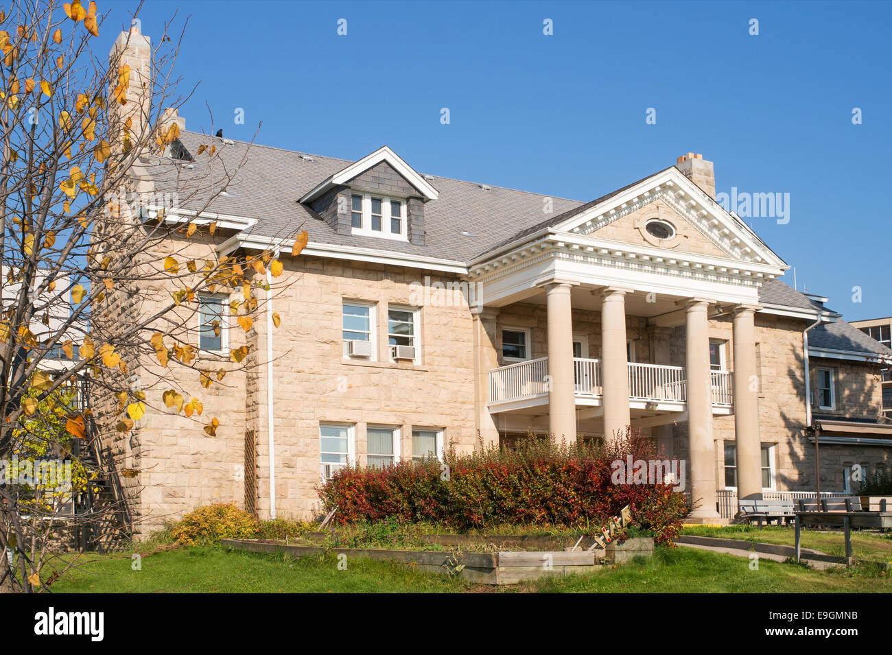 St. Joseph's Manor House, Thunder Bay, Ontario, Canada Stock Photo