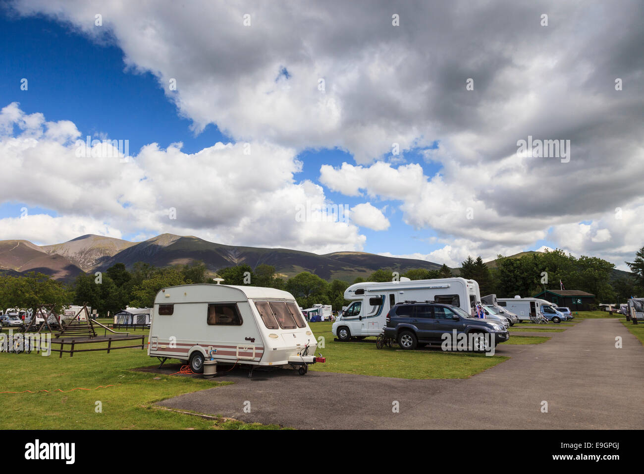 Motor homes stock photos motor homes stock images alamy for Lake tekapo motor camp