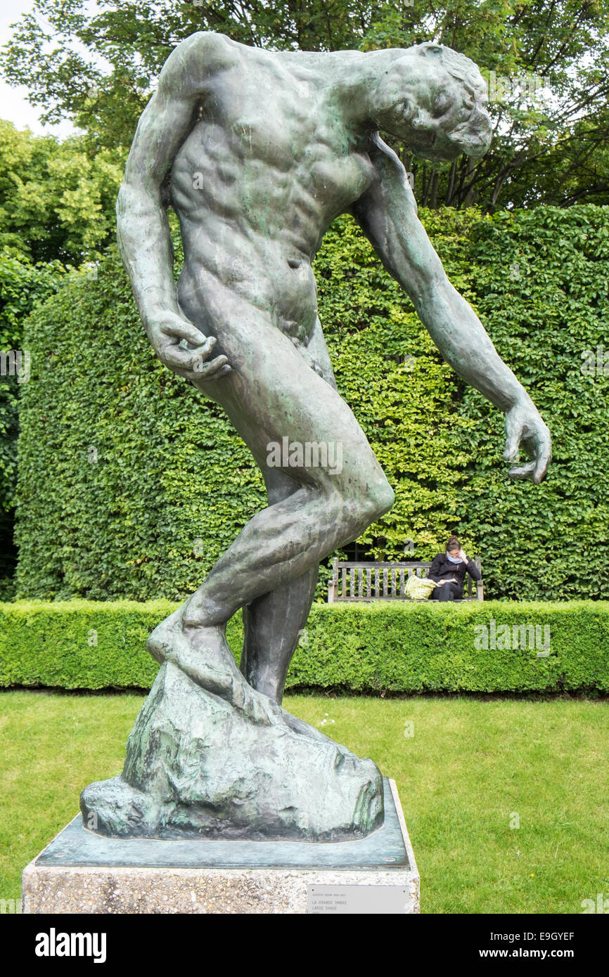 Large Scale The Shade 1904 Sculpture On Display At Gardens Of