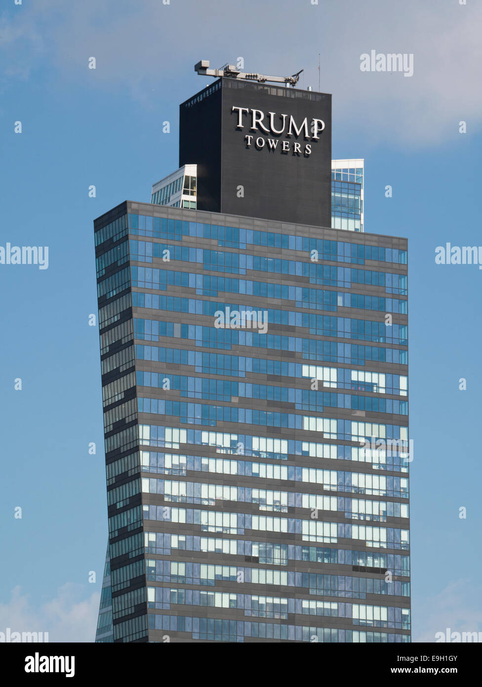 Trump Towers in Istanbul - Stock Image