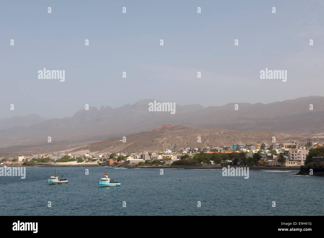 Coastline, Porto Novo, Santo Antão island, Cape Verde - Stock Image