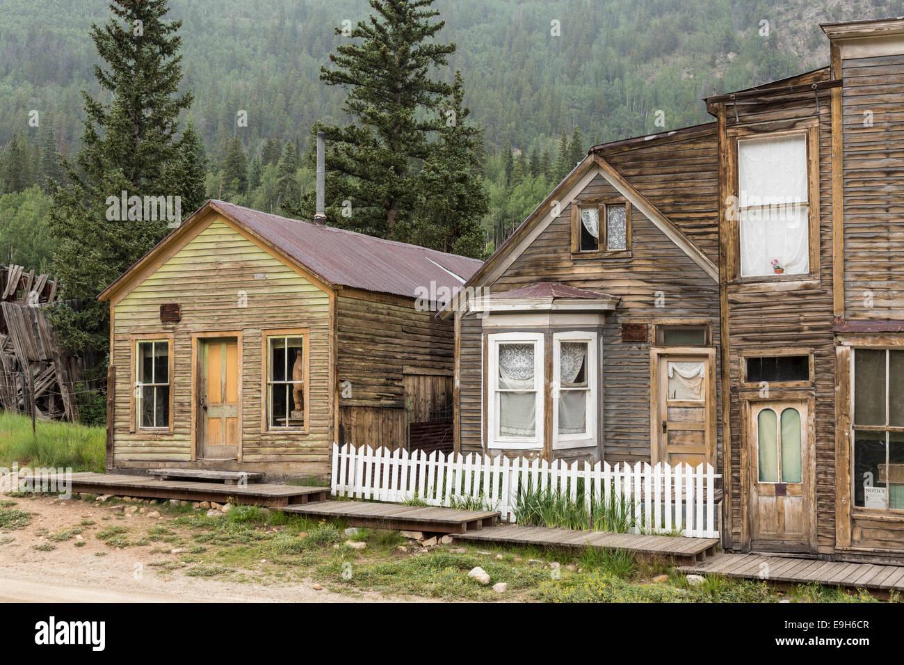 Ghost town of St Elmo, Colorado, USA - Stock Image