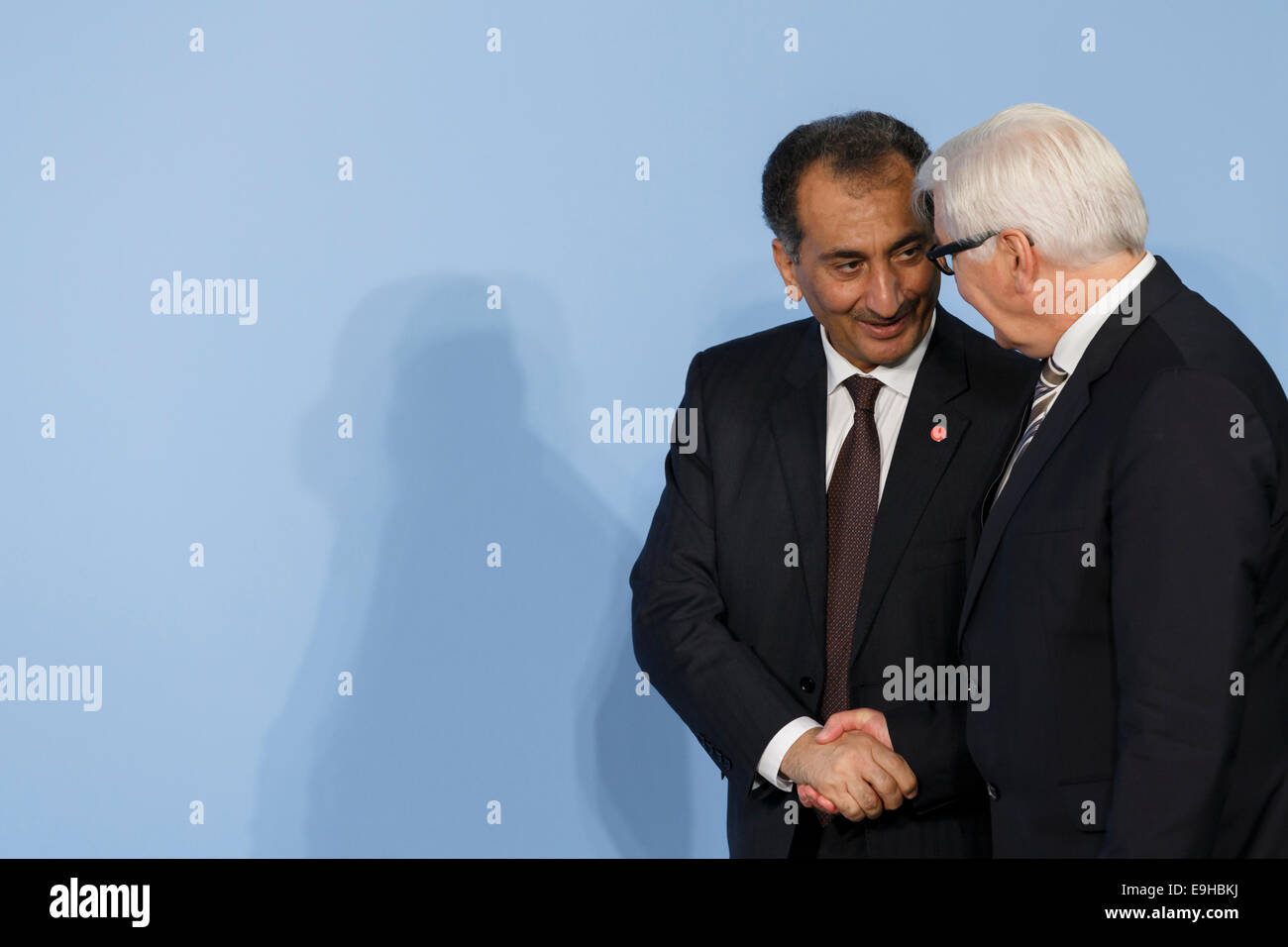"""Berlin, Germany. 28th Oct, 2014. Arrival of Heads of Delegation who did not participate in """"International Support - Stock Image"""
