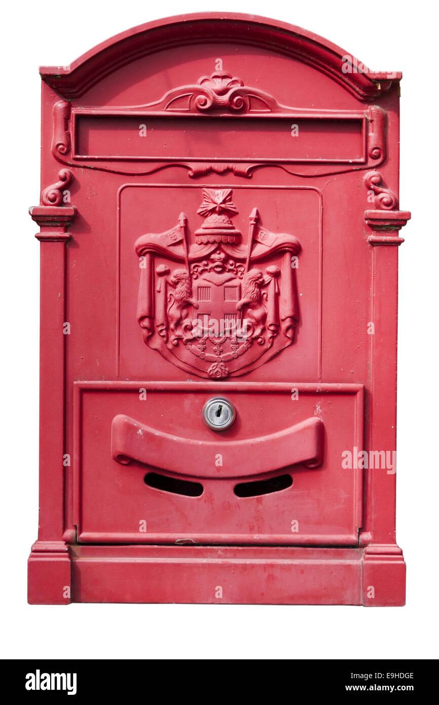 italian letter box Stock Photo