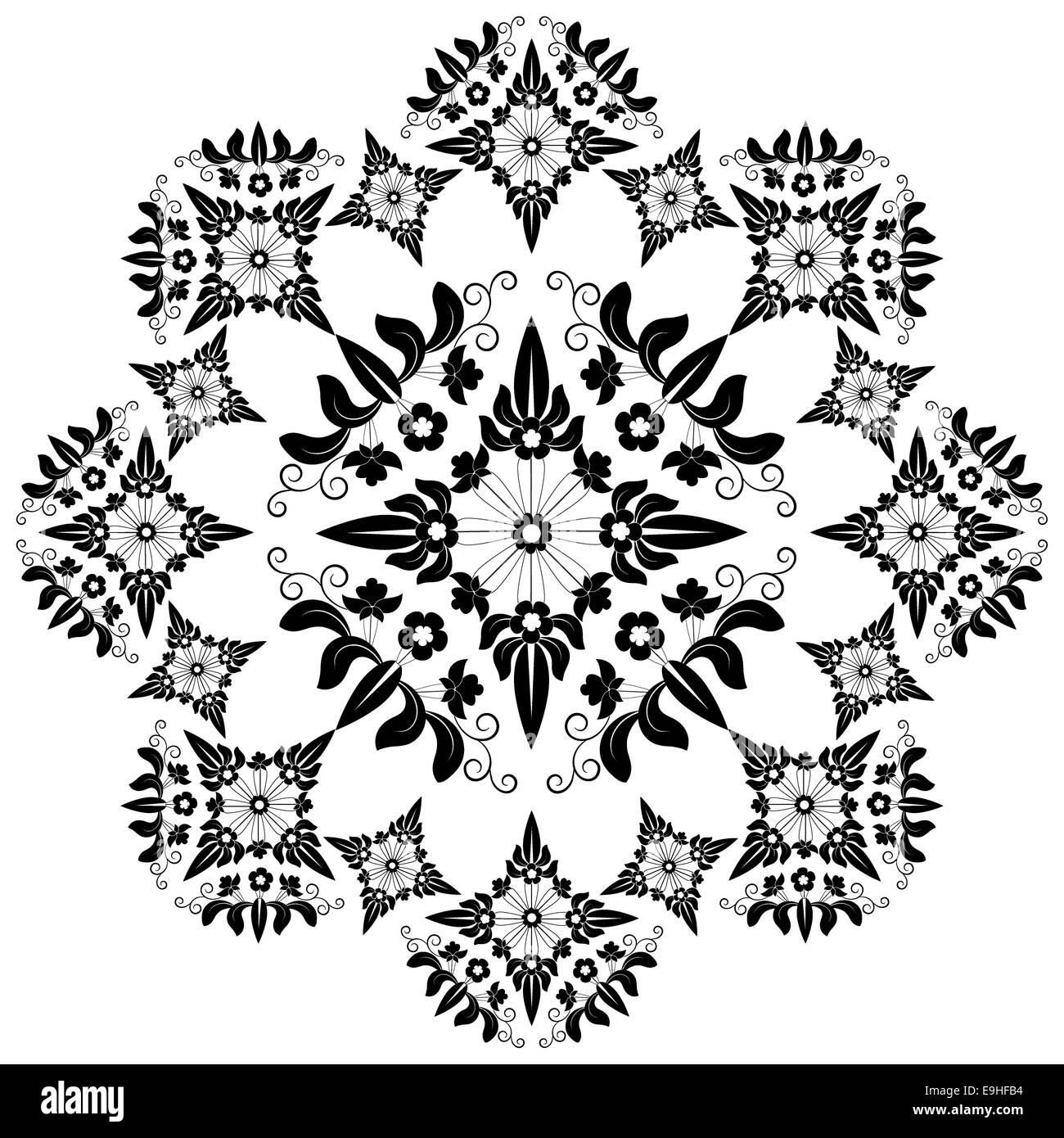 circuler design version - Stock Image
