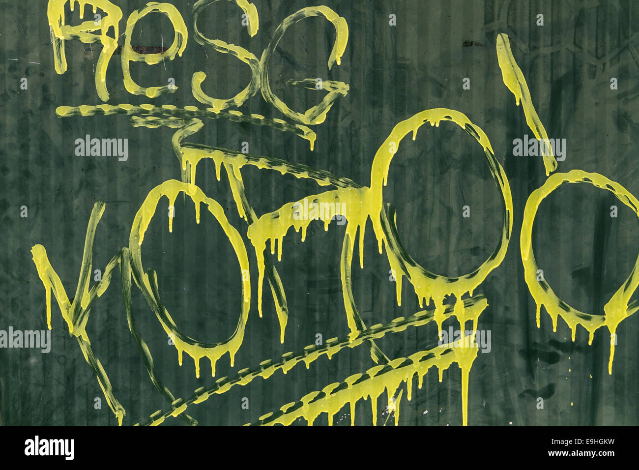 grafitti Stock Photo