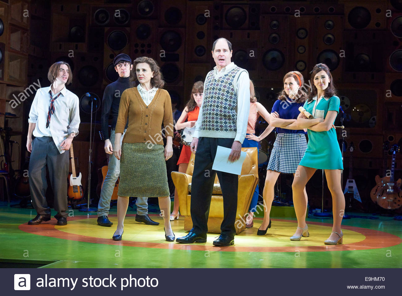 Sunny Afternoon. A Musical. The Kinks, Book by Joe Penhall, Music and Lyrics by Ray Davies. A Hampstead Theatre Stock Photo