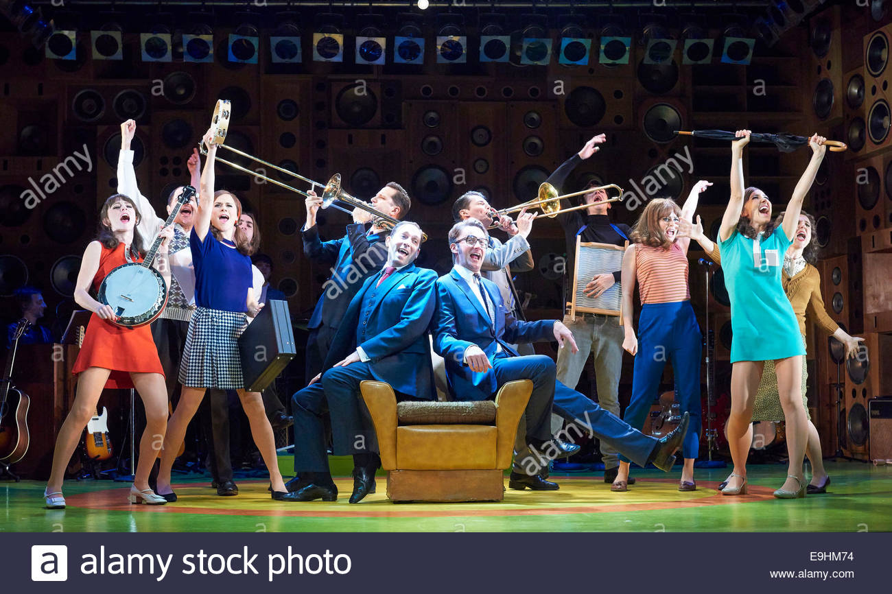 Sunny Afternoon. A Musical based on the music of The Kinks. Book by Joe Penhall, Music and Lyrics by Ray Davies. Stock Photo